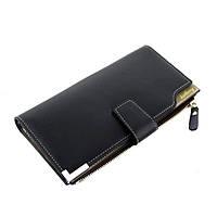 Мужской кошелек Baellerry C1283 черный, фото 1