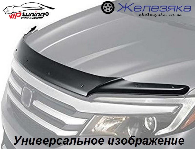 Дефлектор капота (мухобойка) Mitsubishi Outlander 2001-2007 (Vip Tuning)