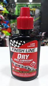 Мастило Finish Line Dry Bike Lubrikant 60мл для ланцюга LUBR-08-03