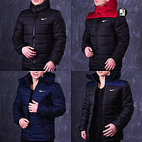 Мужская весенняя куртка в стиле Nike Euro 5 цветов в наличии