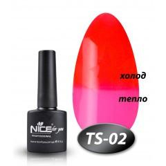 Гель-лак Nice for you TS-02, 8,5 мл
