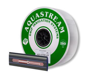 Капельная лента эмиттерная Aqvastream 30см, 6mill (бухта 1000 м) 1 л/час
