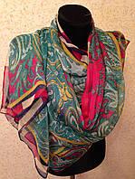 Новый 2015г.Красивый шелковый шарф 2611(цв 15)