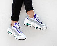 "Кроссовки Nike WMNS Air Max 95 ""White/Purple/Court"", фото 1"