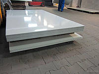 Гладкий лист с полимерным покрытием RAL9003
