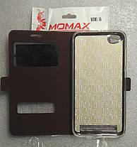 Чохол Книжка Momax для Xiaomi redmi 5a Brown, фото 3