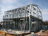 Строительство склада из металлоконструкций