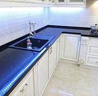 Стільниця з кварцу синя, фото 1
