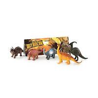 Набір K 164 динозаври, 6 шт., в кульку 26-28-4 см