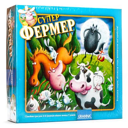 Настольная игра Granna Суперфермер игры настольные детские 80865