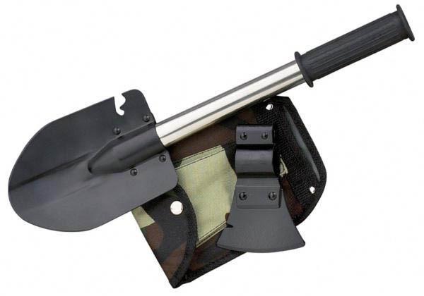 Лопата складная туристическая Tourist Shovel 5в1