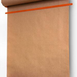 Роллер с бумагой Melmark 86см. Корпус-оранжевый, бумага-крафт 100м.