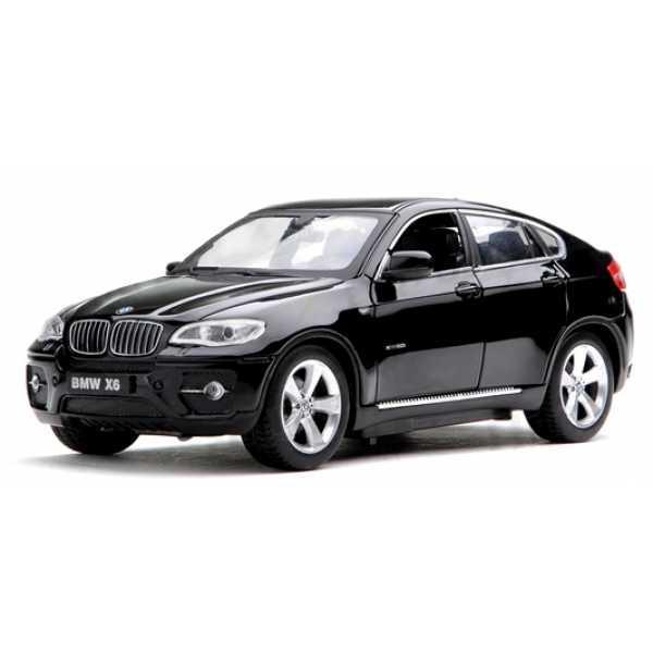 Машинка металлическая на р/у 1:24 Meizhi BMW X6 (черный)