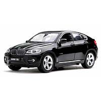 Машинка металлическая на р/у 1:24 Meizhi BMW X6 (черный), фото 1