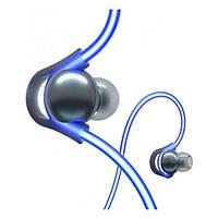 Навушники безпровідні вакуумні з мікрофоном Meizu Halo Bluetooth Earbuds  Blue (2000984872394) d156f8ee06f94