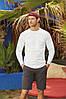 Мужская футболка с длинным рукавом Премиум, фото 4