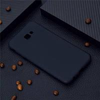 Чехол для Samsung J415 / J4 Plus 2018 силикон soft touch бампер черный