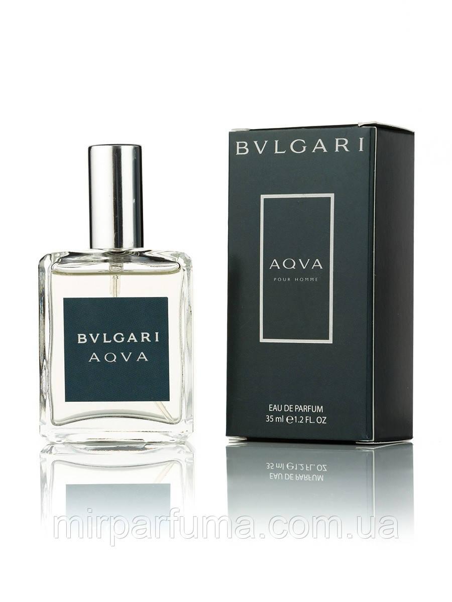Мини парфюм Bvlgari Aqva Pour Homme 35 ml