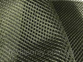 Сітка сумочно-взуттєва на поролоні артекс (airtex) колір хакі