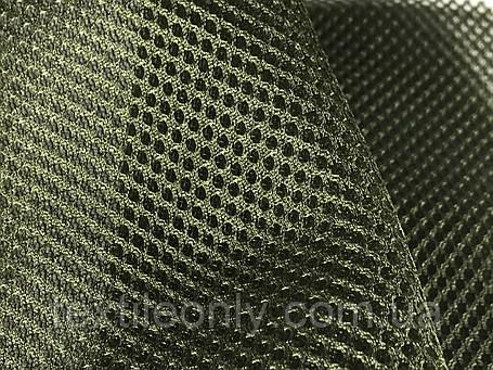 Сетка сумочно-обувная на поролоне артекс (airtex) цвет хаки, фото 2
