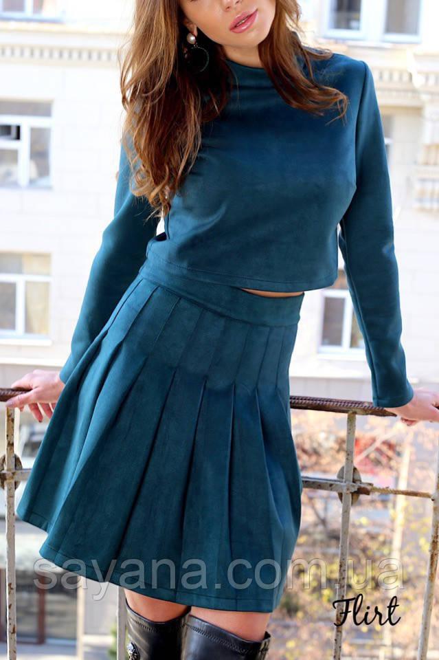 молодежный женский костюм