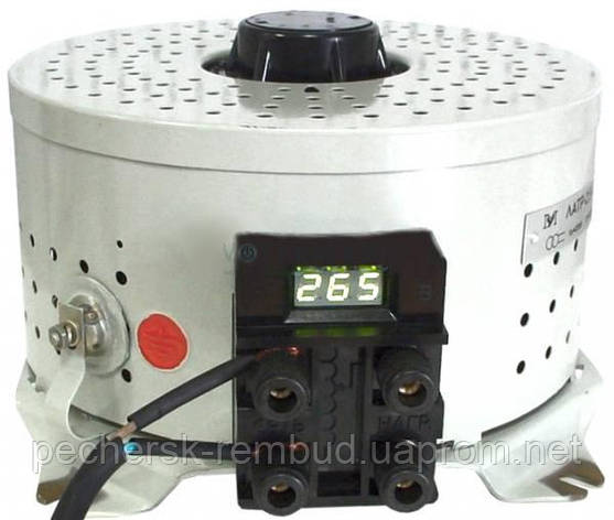 Автотрансформатор ЛАТР 2,5 10А с цифровым индикатором , фото 2