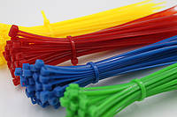 Затяжки пластиковые для проводов цветные 2х150 мм