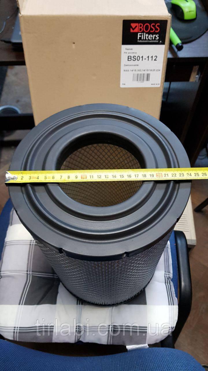 Фильтр воздушный MAN L2000 man 8.163 8.224 M90, MERCEDES