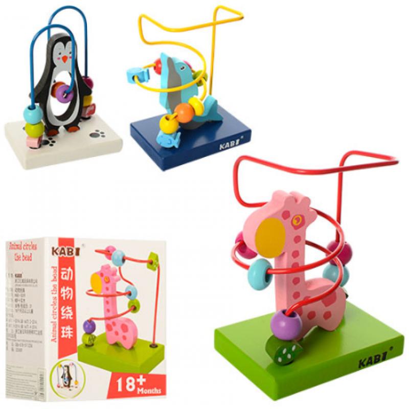 🔥✅ Деревянная игрушка Лабиринт MD 1177 развивающая игрушка животное