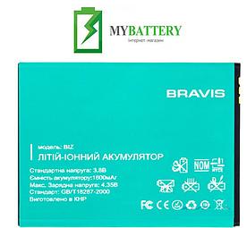 Оригинальный аккумулятор АКБ (Батарея) для Bravis Biz 1400 mAh 3.7V