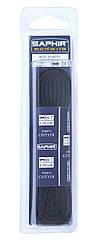 Шнурки для обуви Saphir арт.242, 120 см, плоские, цв. темно-синий (06)
