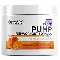 Предтренировочный комплекс OstroVit - PUMP Pre-Workout Formula (300 грамм)