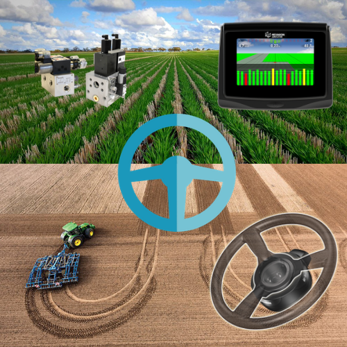 Система параллельного вождения (автопилот) на трактор Buhler Versatile 535 AG