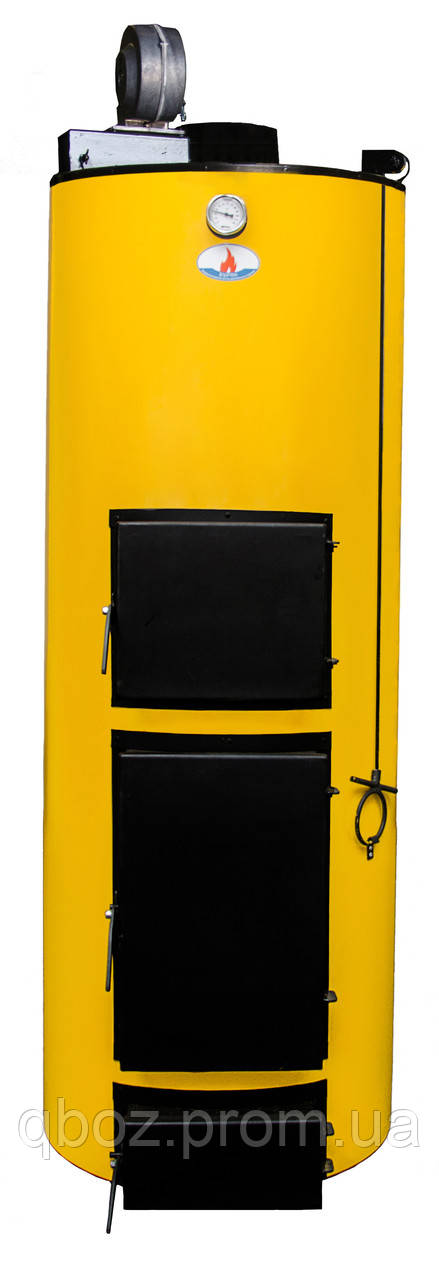 Универсальный котел длительного горения Буран New 40 кВт (уголь+дрова)