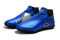 Футбольные сороконожки Nike Phantom Vision Academy DF TF Racer Blue/Racer Blue/Black, фото 1
