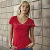Женская футболка V-образный вырез, фото 4