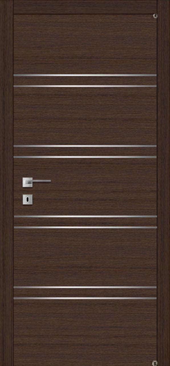 Двери FUSION F-3.1 Полотно+коробка+1 к-кт наличников, шпон
