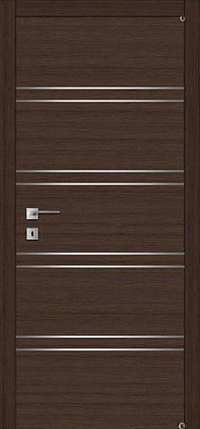 Двері FUSION F-3.1 Полотно+коробка+2 до-та лиштв+добір 90мм, шпон, фото 2