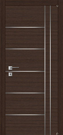 Двери FUSION F-3.2 Полотно+коробка+2 к-та наличников+добор 90мм, шпон, фото 2