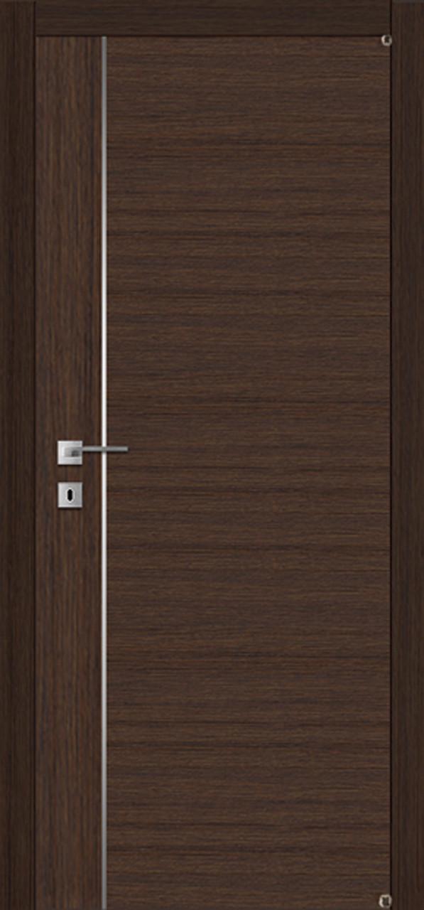 Двери FUSION F-4.2 Полотно+коробка+1 к-кт наличников, шпон