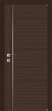 Двери FUSION F-4.2 Полотно+коробка+1 к-кт наличников, шпон , фото 2