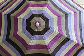 Зонт пляжный, наклонный 180 см
