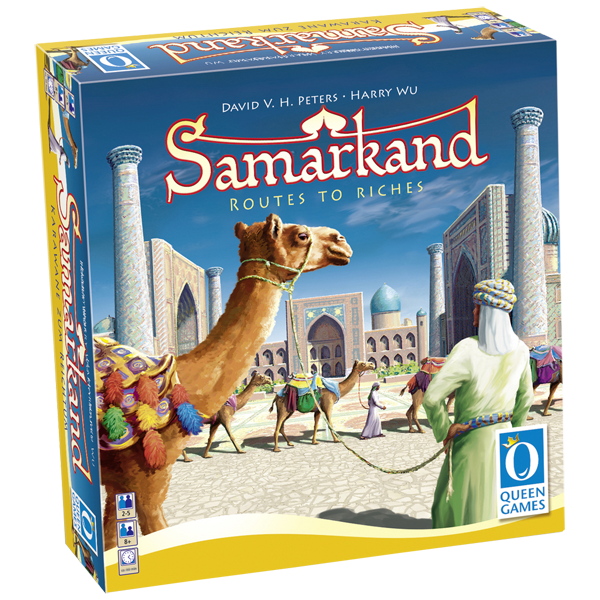 Настольная игра Samarkand: Routes to Riches (Самарканд: Путь к Успеху)
