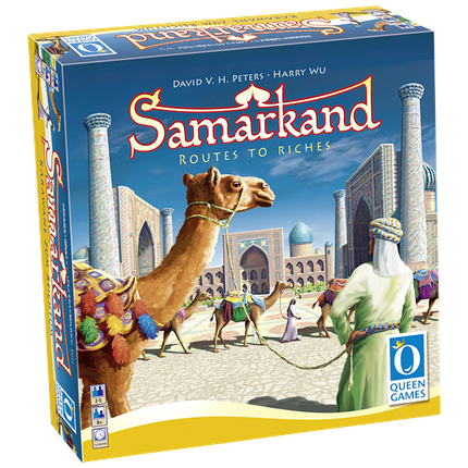 Настольная игра Samarkand: Routes to Riches (Самарканд: Путь к Успеху), фото 2