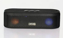 Портативная Bluetooth колонка со светомузыкой HF-X5