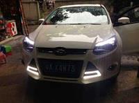 DRL штатные дневные ходовые огни LED- DRL для Ford Focus 2011+V3