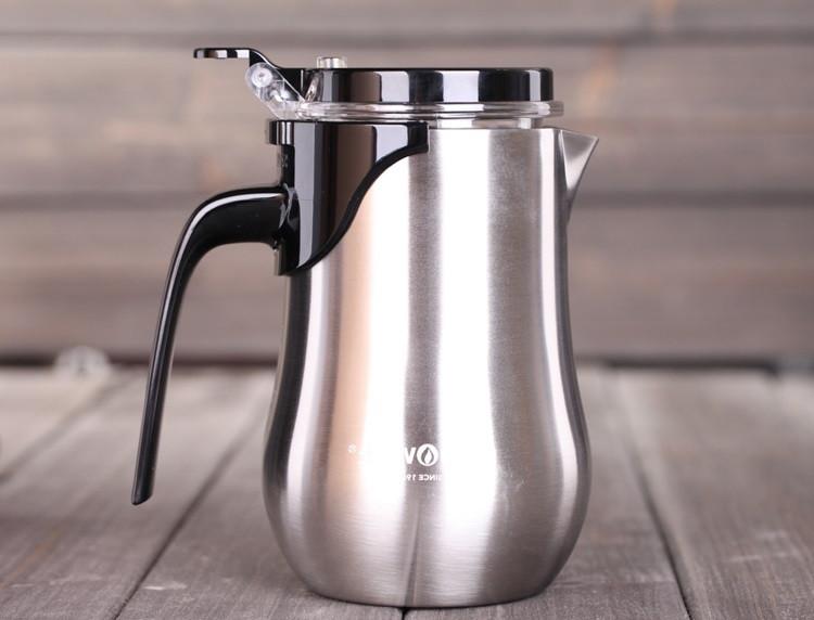 Чайник заварочный с кнопкой Kamjove TО-650, 650 мл