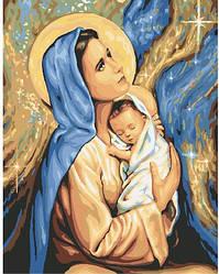 Картина по номерам Мария и Иисус (BK-GX24165) 40 х 50 см (Без коробки)