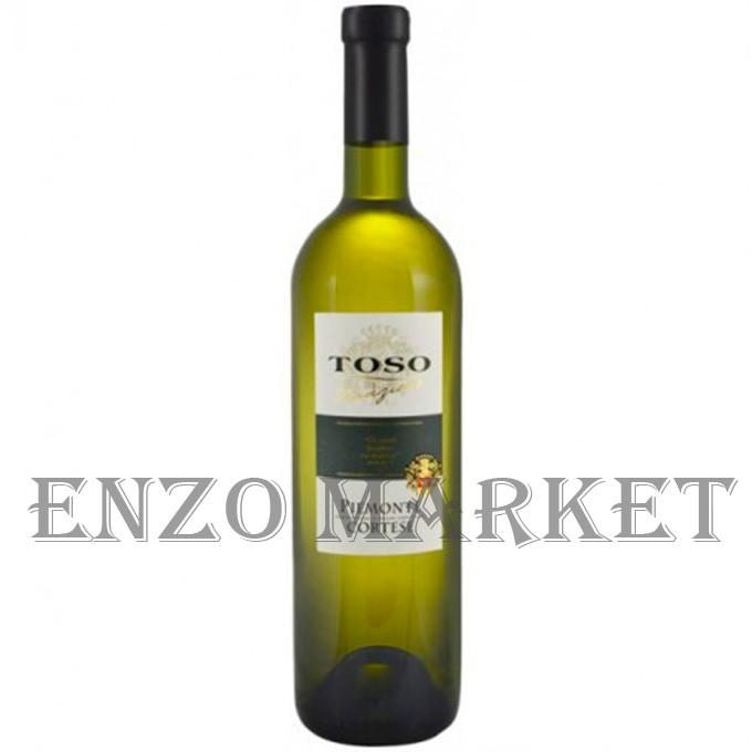 Toso Piemonte Cortese (белое сухое), 0,75 литра