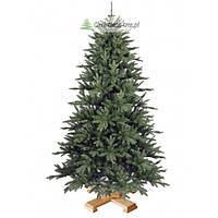"""Елка """"Рождественская обыкновенная"""" на деревянной подставке 155 + гирлянда в подарок"""